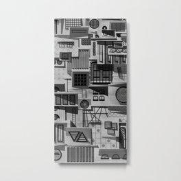 112 Windows Metal Print