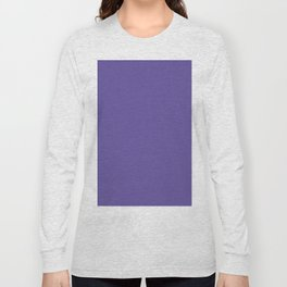 Ultraviolet Purple Pantone Color of The Year 2018 Long Sleeve T-shirt