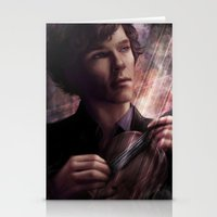 sherlock Stationery Cards featuring Sherlock by jasric