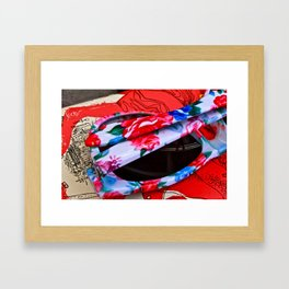 lazy  Framed Art Print