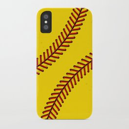 Fast Pitch Softball iPhone Case