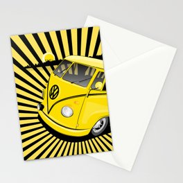 bang bus Stationery Cards