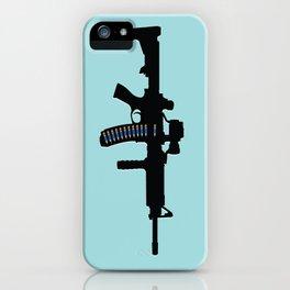 Art not War - Blue iPhone Case