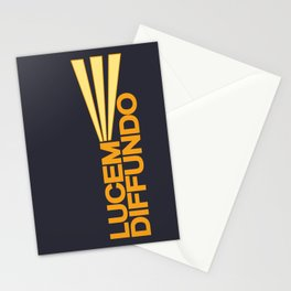 Lucem Diffundo Stationery Cards