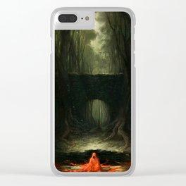 Florest Void Clear iPhone Case