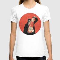 vegetarian T-shirts featuring Vegetarian Vampire by Karolis Butenas