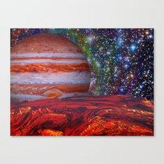 Looking At Jupiter Canvas Print