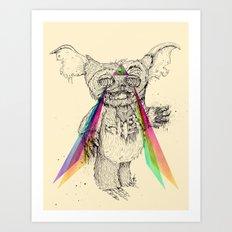Gizmombie Art Print
