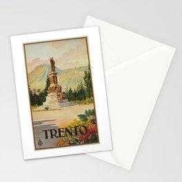 Trento Italy Statue Dante Stationery Cards