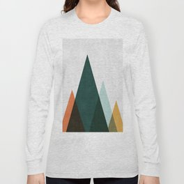 Minimalist Landscape XII Long Sleeve T-shirt