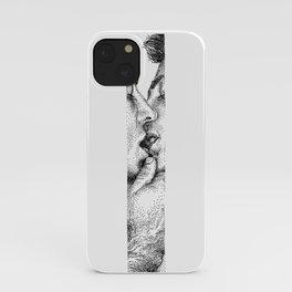 Henry NOODDOOD Strip iPhone Case