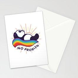 Panda Rainbow Stationery Cards