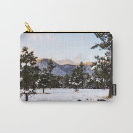 Pretty Wintery Scene Carry-All Pouch