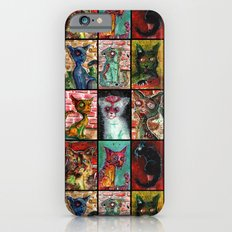 9 Zombie Cats version 2 Slim Case iPhone 6s