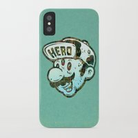 hero iPhone & iPod Cases featuring Hero by Beery Method