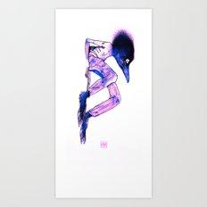 CrowHead (cabececuervo) Art Print