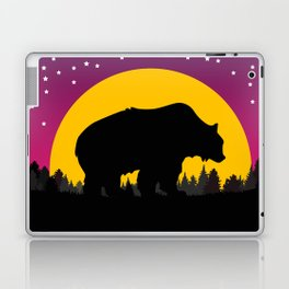 Bear Stars Moon Laptop & iPad Skin