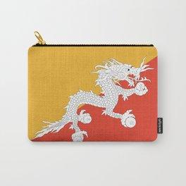 Bhutanese flag Patriotic Bhutan Flag Carry-All Pouch