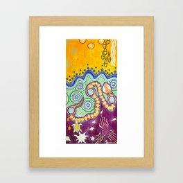 Rainbow Serpent Framed Art Print