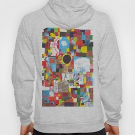 Microcosm Collage Hoody