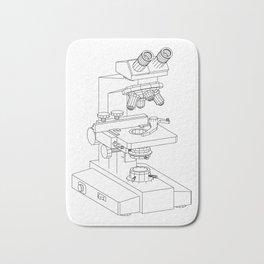 microscope Bath Mat