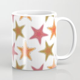 Fishtales: Starfish 8 pattern 1 Coffee Mug