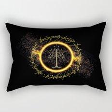 Lord Of The Ring Circle Rectangular Pillow