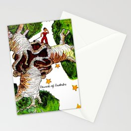 The Little Prince: Beware of Baobabs #2 Stationery Cards