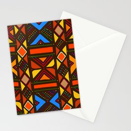 African Style No6, Sahara Desert Stationery Cards