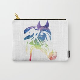 Rainbow Horse Carry-All Pouch