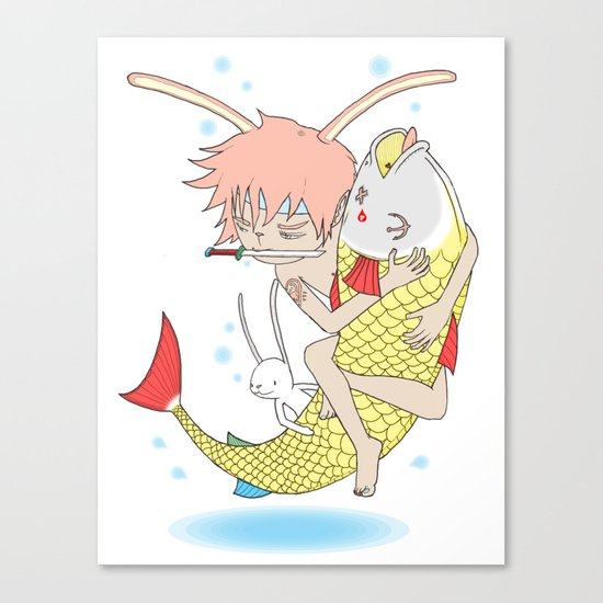 安寧 HELLO - FISHING EP003 Canvas Print