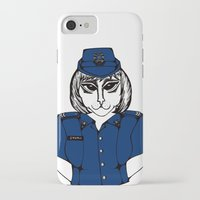 police iPhone & iPod Cases featuring Police Kitty by Sofy Rahman