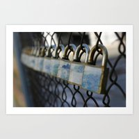 Locks Art Print