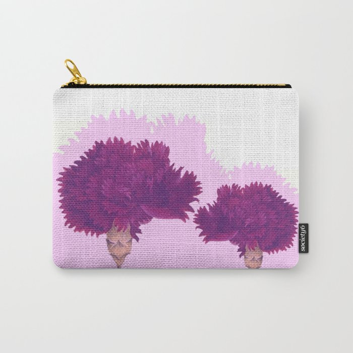 purple carnation Carry-All Pouch