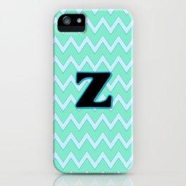 Letter Z iPhone Case