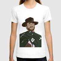 clint eastwood T-shirts featuring Clint Eastwood by  Steve Wade ( Swade)