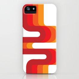 Retro Flow iPhone Case