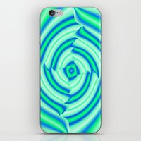 blues iPhone & iPod Skins featuring Blues by Elena Indolfi
