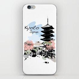 Kyoto Temple Japan iPhone Skin