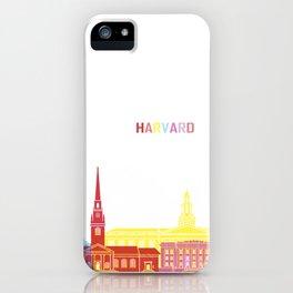 Harvard skyline pop iPhone Case