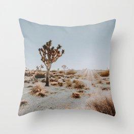 Joshua Tree / California Desert Throw Pillow