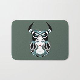 Owl Tribe Bath Mat
