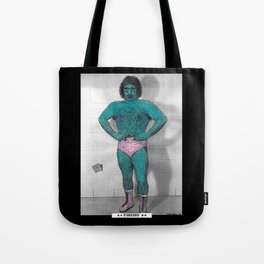 The League Of Unfortunate Wrestlers - #1  ** El Brasero ** Tote Bag