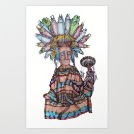 Off to Tortugas Art Print