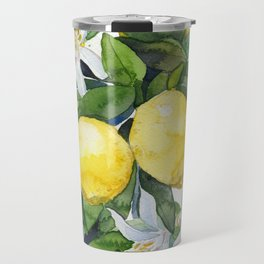lemon tee Travel Mug