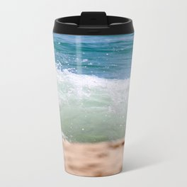 Crashing Ashore Metal Travel Mug