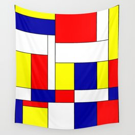 Mondrian #37 Wall Tapestry
