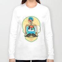 body Long Sleeve T-shirts featuring body by danta