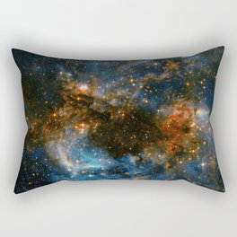 Galaxy Storm Rectangular Pillow