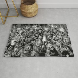 Frankenstein Villagers Rug